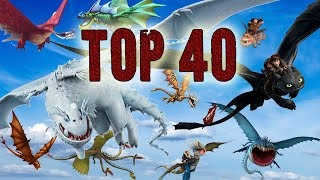 Top 40 Racing Dragons - School of Dragons