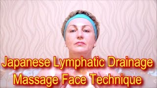 Japanese Massage Face Technique Zogan - Lymphatic Drainage Massage Facial Yukuko Tanaka