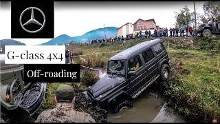 getlinkyoutube.com-ГЕЛИК Покоритель Бездорожья G63 AMG OFF ROAD TEST