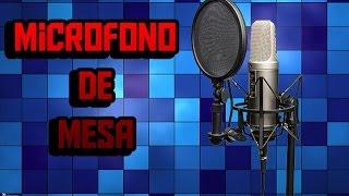getlinkyoutube.com-Como Hacer Un Microfono De Mesa Casero En 5 Minutos Muy Fácil! - KeVeWo Tv