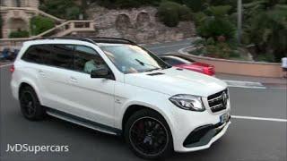 getlinkyoutube.com-2016 Mercedes GLS 63 AMG Driving in Monaco!