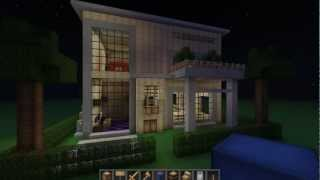 getlinkyoutube.com-Burak Minecraft'ta Bölüm 8 - Modern Mimari Ve Ödüllü Yarışma