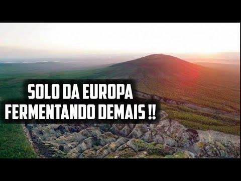 Algo está fermentando o solo da Europa - Vulcões se interligando e clima esquentando