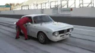 getlinkyoutube.com-110TS、アルファジュリアレーサー、走行会動画 Alfa Romeo