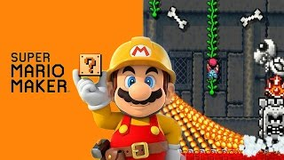 Super Mario Maker - Make a map for stampycat