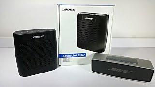 Bose Soundlink Color - Unboxing & Comparison!