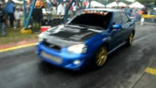 getlinkyoutube.com-Full Street Subaru kartec tuning drag record Venezuela