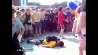 Most brutal mosh pit in the history of mankind