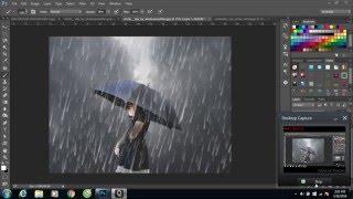 getlinkyoutube.com-Photoshop: Tạo  Hiệu Ứng Mưa Buồn Trong  Photoshop