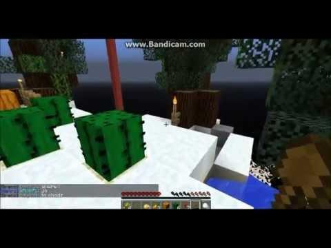Minecraft Sky block na serwerze majkrafty.pl