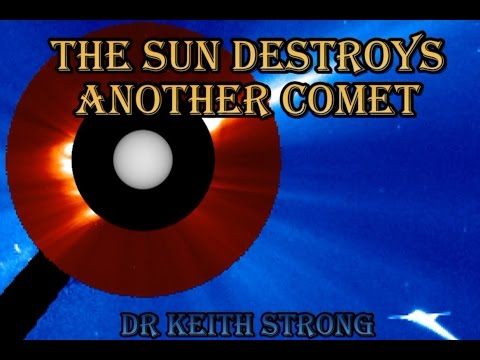ANOTHER COMET CRASHES INTO SUN