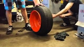 Tyre stretch 165/60 r14 on 9,25J