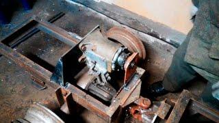 Подготовка и установка КПП на раму. Сборка минитрактора (Часть 4)