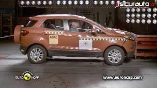 getlinkyoutube.com-Ford Ecosport - Euro NCAP Crash test - ESC test