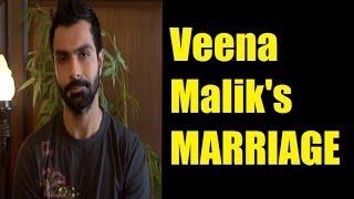 Ashmit Patel wishes Veena Malik a happy married life.