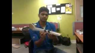getlinkyoutube.com-Hand-made slider crank mechanism