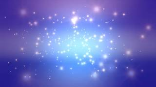 getlinkyoutube.com-60:00 Minutes ~Purple Blue Moving Stars~ Longest (!!!) FREE HD Motion Background