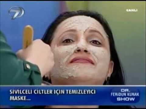 Dr. Feridun Kunak Show 2 Ocak B7 (Sivilceli Ciltler İçin Temizleyici Maske)