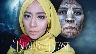 Beauty and The Beast Makeup Tutorial | Natural Glam Looks Pakai Produk Drugstore dan Lokal