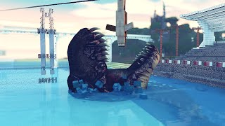 getlinkyoutube.com-Minecraft: JURASSIC WORLD NO MINECRAFT!