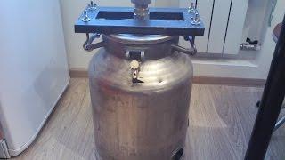getlinkyoutube.com-Перегонный куб. Изготовление самогонного аппарата 4 часть.