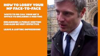 Jan '13 - StopClimateChaos - Lobby Tips
