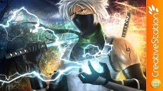 Kakashi Hatake (Naruto) - Speed Painting (#Photoshop) | CreativeStation GM