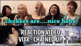 getlinkyoutube.com-Yi Family Reacts | VIXX Chained Up (빅스 사슬) MV