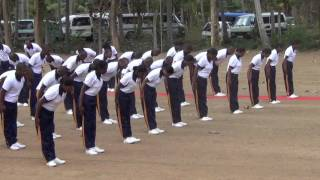 Karate Display _ Sri Lanka Excise Guard Batch III 2016