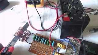 getlinkyoutube.com-Индукционный нагреватель - плавим лезвие