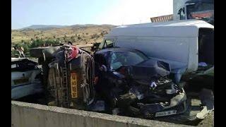 getlinkyoutube.com-حادث مرور الجباحية بالبويرة 20 سيارة  2015/07/22