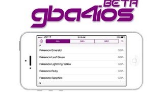 GBA4iOS 2.0: Final Overview! (iOS 6 Users Kicked From Beta)