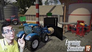 Piec na słome z suszarnią - Boluśowo v6.1 ☆ Farming Simulator 2015 ㋡ MafiaSolec
