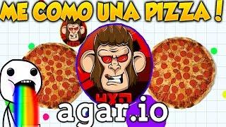 getlinkyoutube.com-AGAR.IO HUNGER GAMES ME COMO UNA MEGA PIZZA!!! JUEGO RANMDOM SUPER ADICTIVO AGARIO