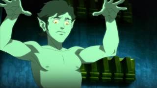 Beast Boy Sleeps Nude: Justice League vs. Teen Titans
