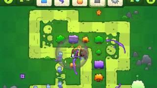 getlinkyoutube.com-Bloom Defenders Walkthrough - Levels 1-6 - Normal Mode Gold