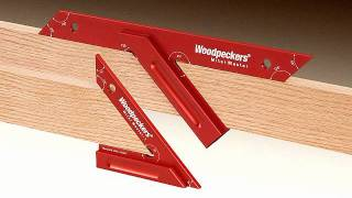 getlinkyoutube.com-Woodpeckers Miter Master (Retired OneTIME Tool®)