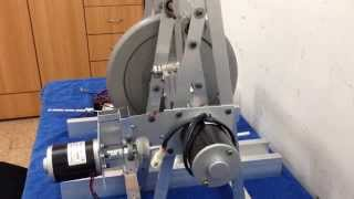 getlinkyoutube.com-The sound of Magnetic System flywheel energy storage or free energy low tech devices