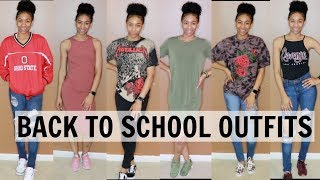 Cute & Casual Back To School Outfit Ideas With Sneakers