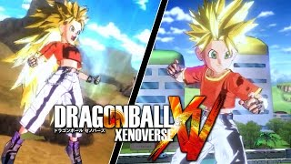 getlinkyoutube.com-Super Saiyan Pan?! [Dragon Ball Xenoverse PC Mod]