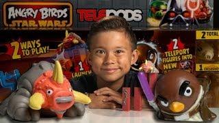 BATTLE ON GEONOSIS - Angry Birds Star Wars II TELEPODS WEEK - Day 2