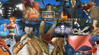 getlinkyoutube.com-One Piece: Pirate Warriors - ALL CHARACTER SPECIALS [English Subs] (All Costumes/DLC/Intros/Outros)