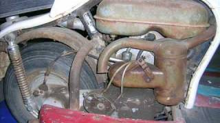 getlinkyoutube.com-NSU Prima D Scooter Restoration