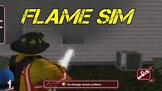 getlinkyoutube.com-Flame Sim Gameplay - Best Firefighting Game/Simulator