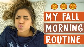 getlinkyoutube.com-My Fall Morning Routine | Bethany Mota