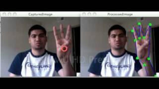 getlinkyoutube.com-Finger detection using OpenCV