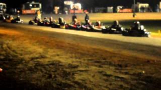 getlinkyoutube.com-Tri State Pro Karting Series - Fastest Girl In Town Women's Clone - Paradise Raceway 02/02/2013