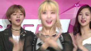 子瑜 Mina 和TWICE成員唱中日英文版 Like OOH AHH (只有一小段)