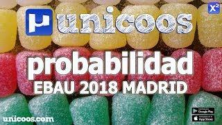 Imagen en miniatura para Probabilidad - EBAU 2018 Madrid