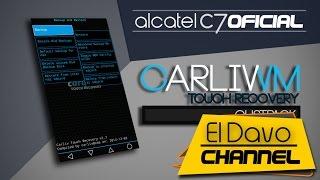 getlinkyoutube.com-Instalar CTR Recovery - Alcatel Pop C7 Kitkat 4.4